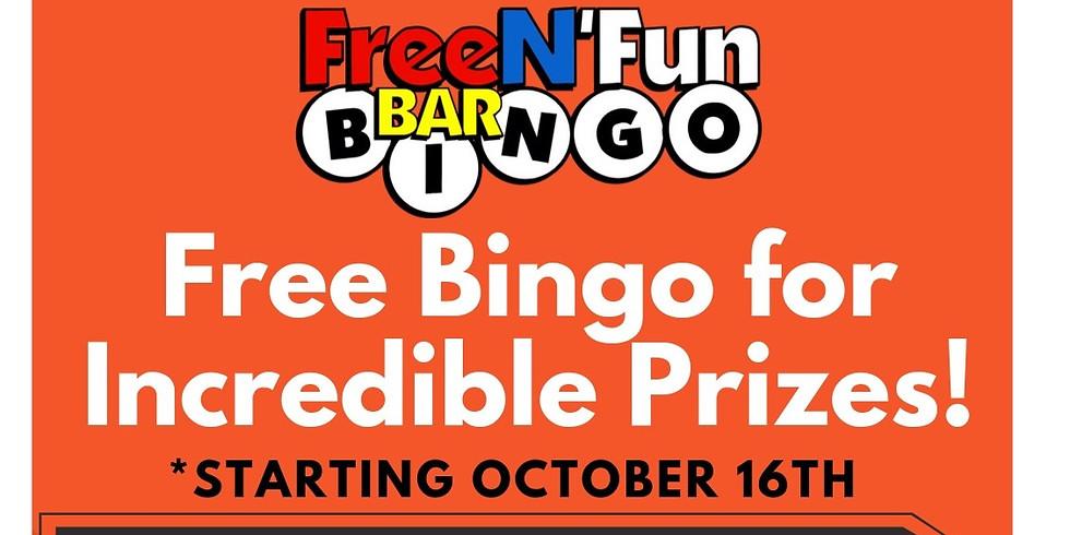 Bar Bingo Night