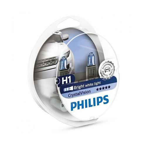 PHILIPS H1 CRYSTAL VİSİON BEYAZ AMPUL