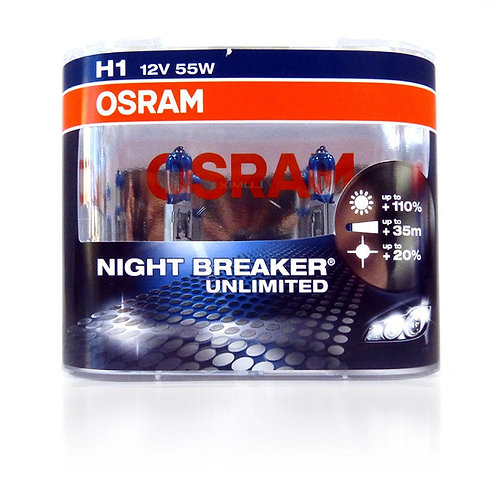 Osram H1 %110 Night Breaker Unlimited 12V 55W