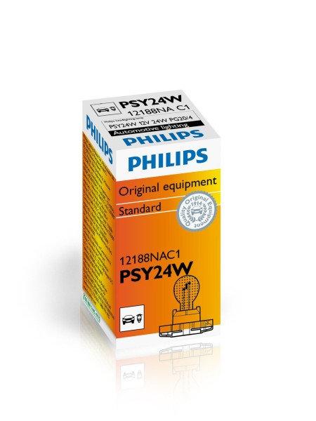 Philips PSY24W Turuncu sinyal & gündüz far ampulü