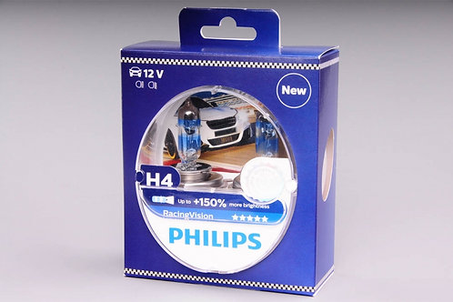 PHILIPS H4 RACİNG VİSİON %150 AMPUL