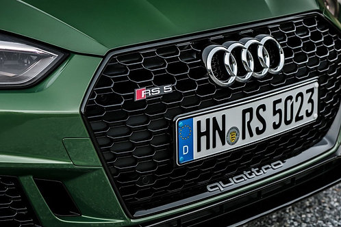 Audi Rs5 Panjur QUATTRO STİCKER