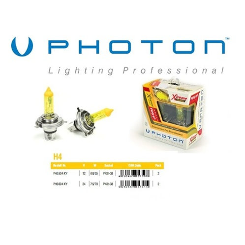 Photon Xtreme Yellow Serisi HB4 Sarı Far Ampulü