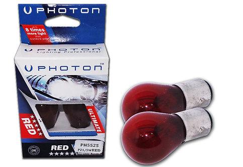 Photon Çift Duy Yakın Tırnak Kırmızı Ampul