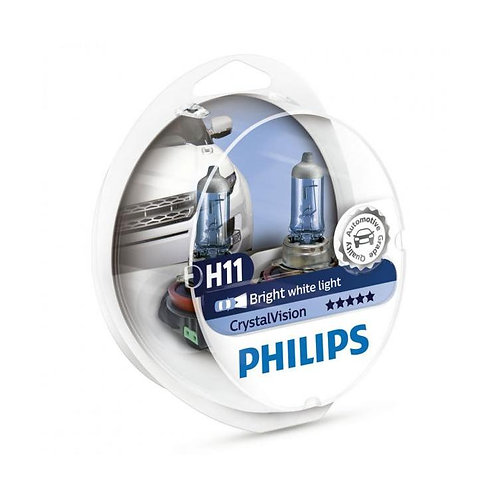 PHILIPS H11 CRYSTAL VİSİON AMPUL