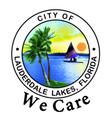 City of Lauderdale Lakes Logo (We Care).