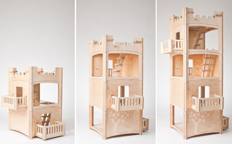 Modular stack house
