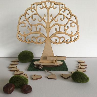 Flutter Heart Tree for Weddings