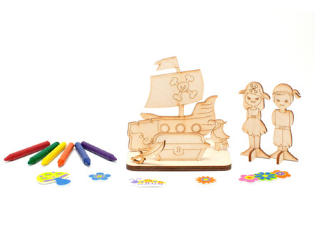Interactive & DIY Wooden Toy Gifts for big kids too!
