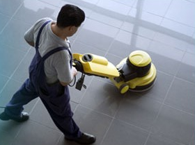 commercial floor cleaning by Vantage Cleaning Services