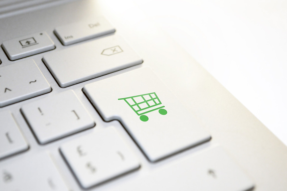 picture of online shopping cart