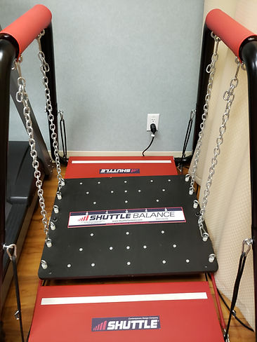 Shuttle Balance board at Advanced Physiotherapy
