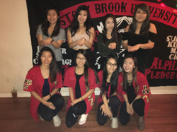 With all our beautiful bigs <3