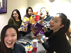 Always snack time with the ATs!