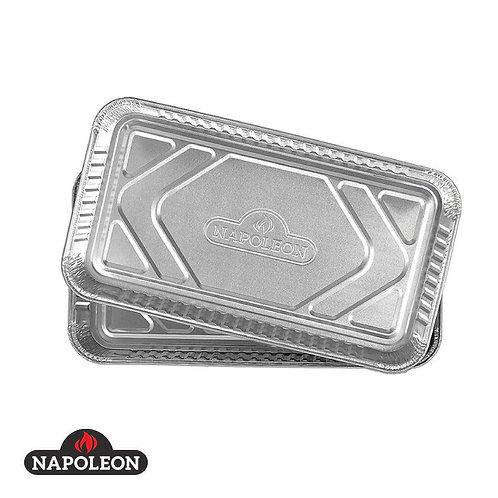 Napoleon Alu-Fettschalen groß (5Stück)