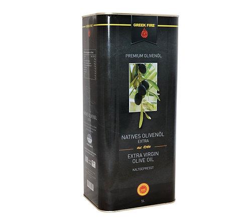 Greek Fire Premium Olivenöl 5L Kanister