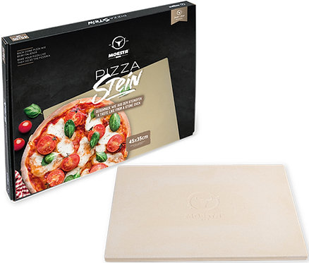 MOESTA Pizzastein, rechteckig mit Stier 45x35cm