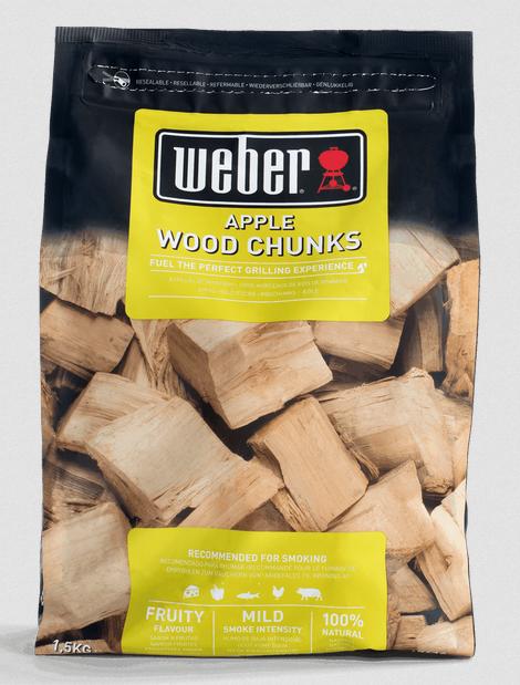Weber Wood Chunks Apfelholz 1,5kg