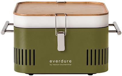 Everdure Cube Holzkohle Grill, Khaki
