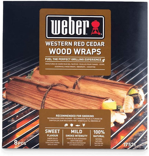 Weber Wood Wraps Zedernholz