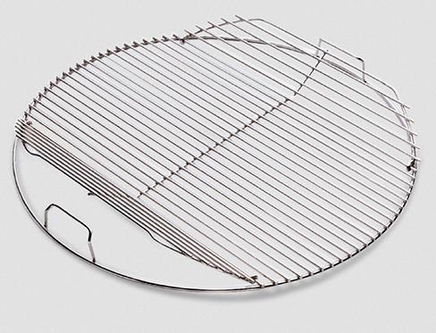 Weber Klappbarer Grillrost für Holzkohlegrills mit Durchmesser von 57 cm