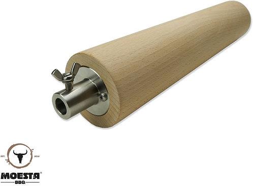 MOESTA FeuerWalze, Buchenholzrolle bis 13,8 mm Durchmesser