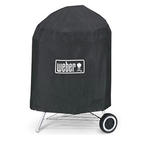 Weber Premium-Abdeckhaube für Holzkohlegrills mit Durchmesser von 47cm