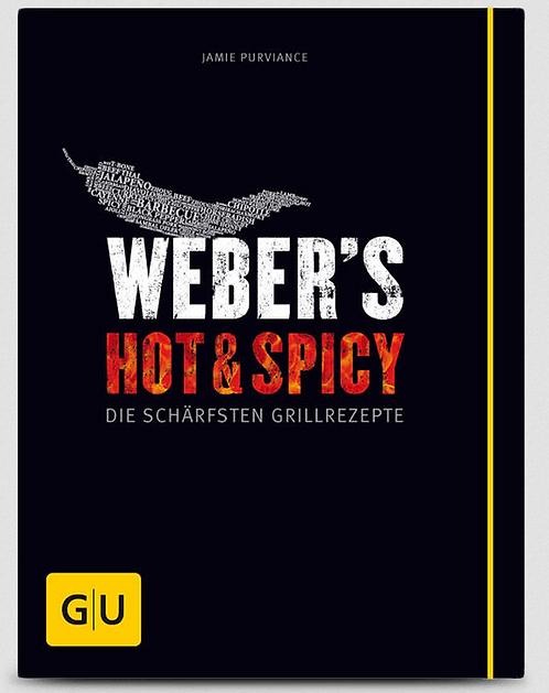 """Weber Buch """"Hot & Spicy - Die schärfsten Grillrezepte"""""""