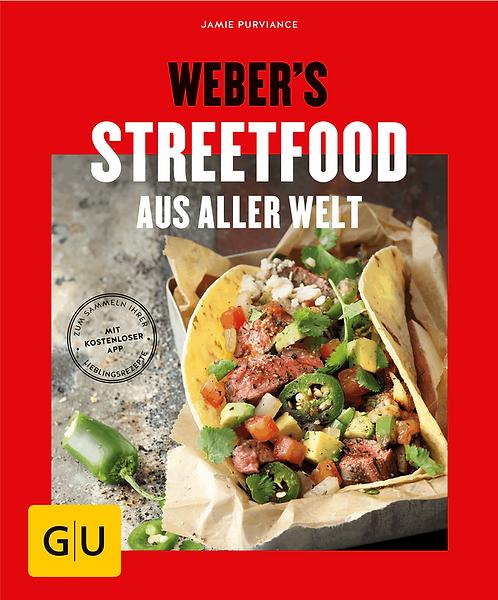 """Weber Buch """"Streetfood aus aller Welt"""""""