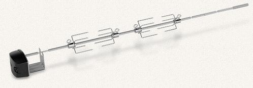 Weber Drehspieß für Gasgrills der Genesis-II- u. Genesis-II-LX-400- u. 600-Serie