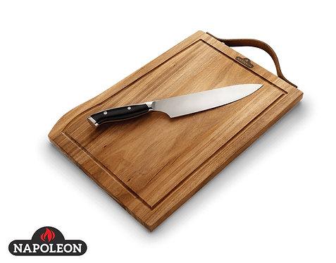 Napoleon Schneidebrett inkl. PRO Chef Messer