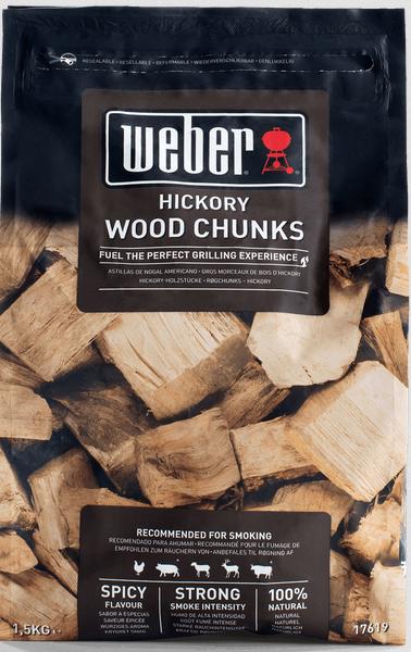 Weber Wood Chunks Hickory 1,5kg