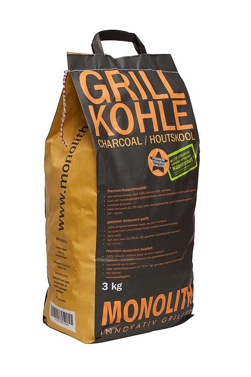 Monolith Grillholzkohle 3 kg