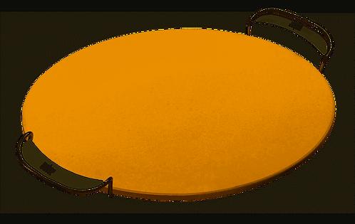 Weber Pizzastein mit Gestell, ohne Grillrost