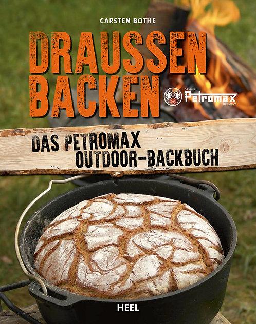 """Petromax Buch """"Draussen Backen"""""""