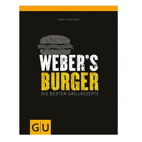 "Weber Buch ""Weber Burger - Die besten Grillrezepte"""