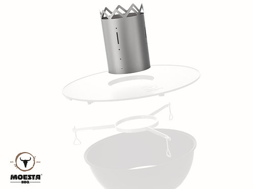 MOESTA WOK´N BBQ Kamin für BBQ-Disk