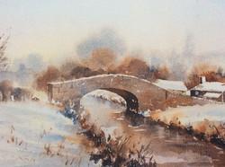 Early MorningSnow, Neath Canal