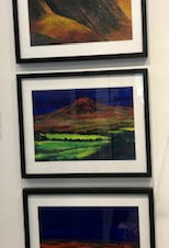 Robert Wells paintings inspired by Brecon Beacons