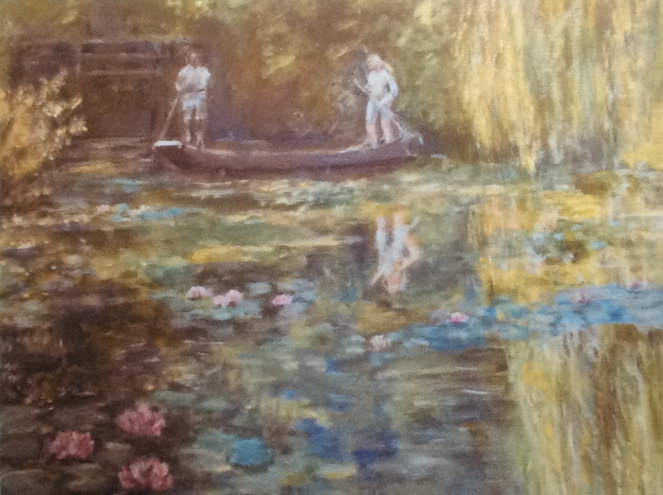 Tending Monet's Lili Pond