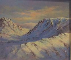 Winter Sunrise in Snowdon