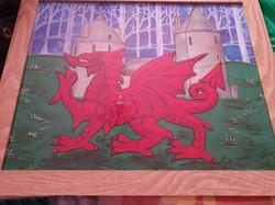 Dragons at Castell Coch