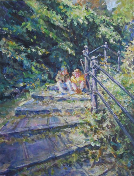 Sunny steps