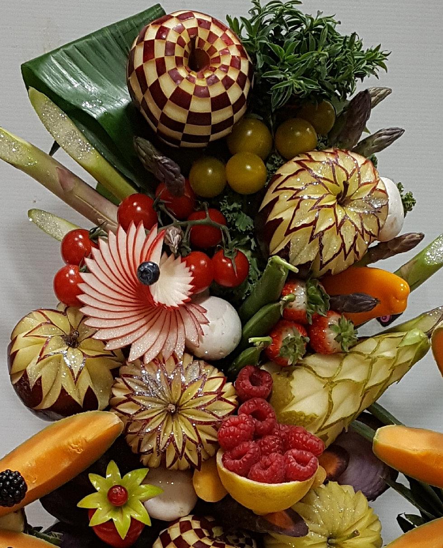 Sculpture sur fruits et l gumes - Sculpture sur fruit ...