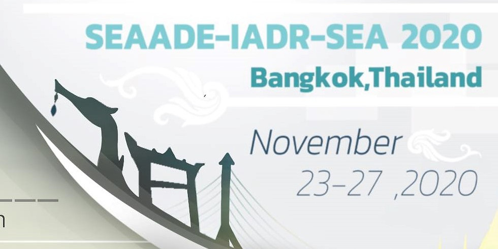 The 34th Annual Scientific Meeting of International Association of Dental Research - South East Asia Division (IADR-SEA)