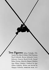 Two Figures poster by Bülent Erkmen