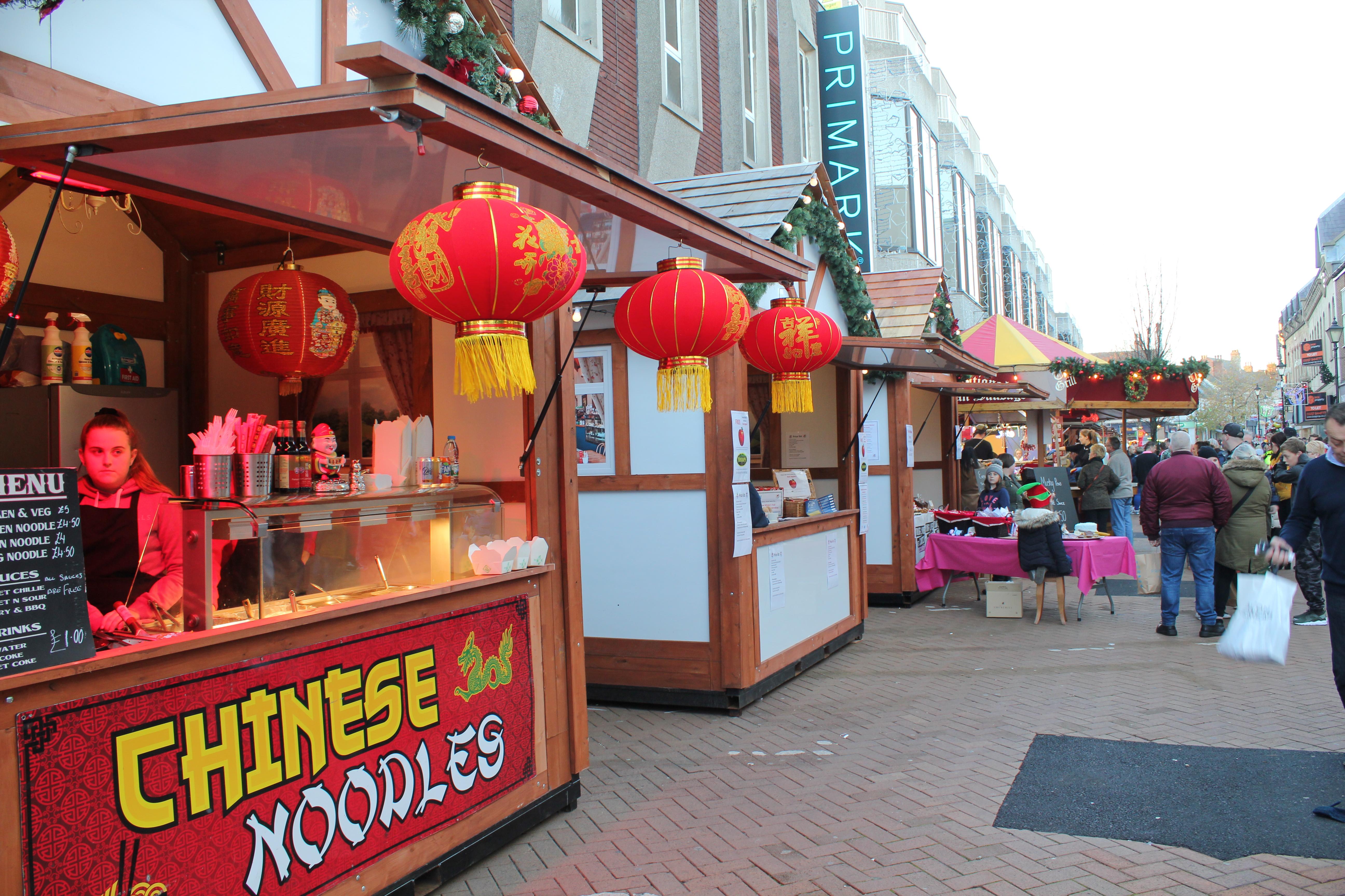 Christmas market on West Gate