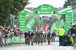 TOB Mansfield stage finish line