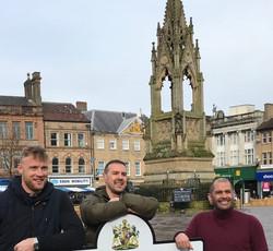 Top Gear presenters in Mansfield
