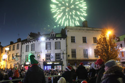 The Big Switch On fireworks finale